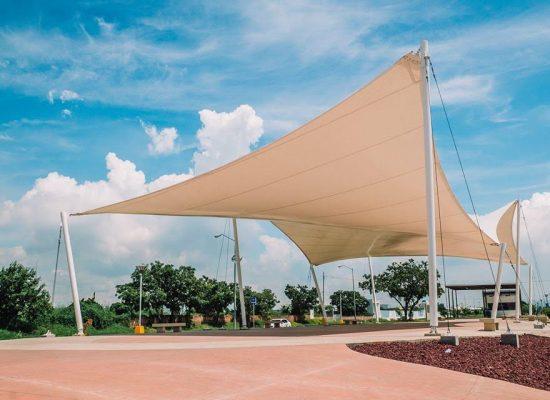 """Proyecto Parque lineal / Sección """"Tranquilidad"""""""
