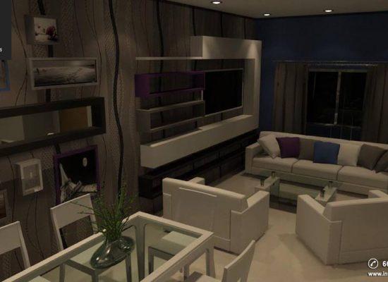 Proyecto de Diseño Interior Fracc. Puntarena